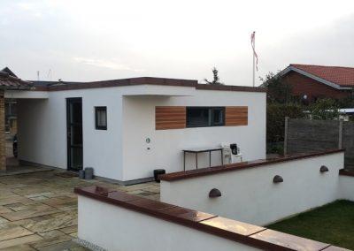 Facade renovering af hus