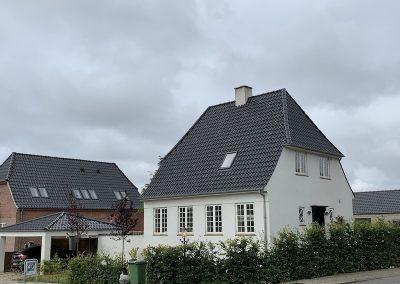 Facade renovering hus Esbjerg